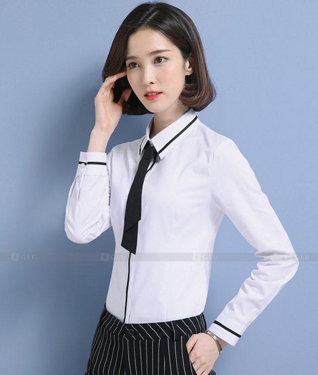 Dong Phuc Cong So Nu GS578 áo sơ mi nữ đồng phục công sở