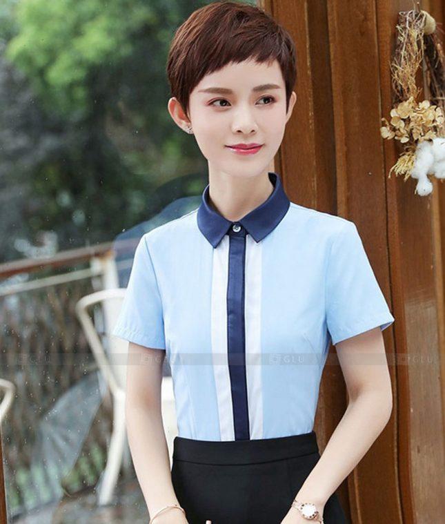 Dong Phuc Cong So Nu GS579 áo sơ mi nữ đồng phục công sở