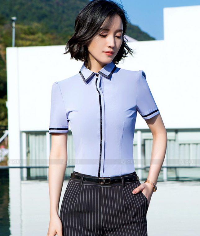 Dong Phuc Cong So Nu GS580 áo sơ mi nữ đồng phục công sở