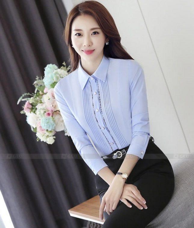 Dong Phuc Cong So Nu GS581 áo sơ mi nữ đồng phục công sở