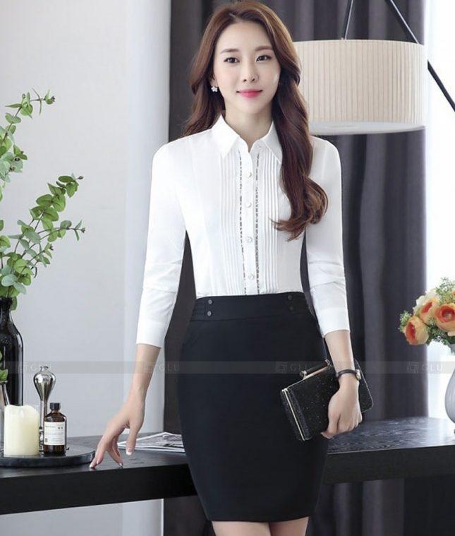 Dong Phuc Cong So Nu GS582 áo sơ mi nữ đồng phục công sở