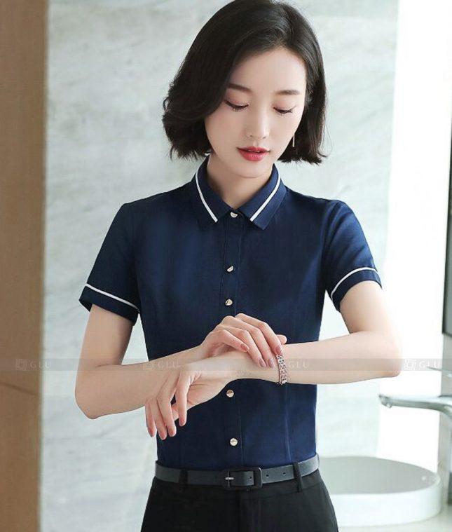 Dong Phuc Cong So Nu GS583 áo sơ mi nữ đồng phục công sở
