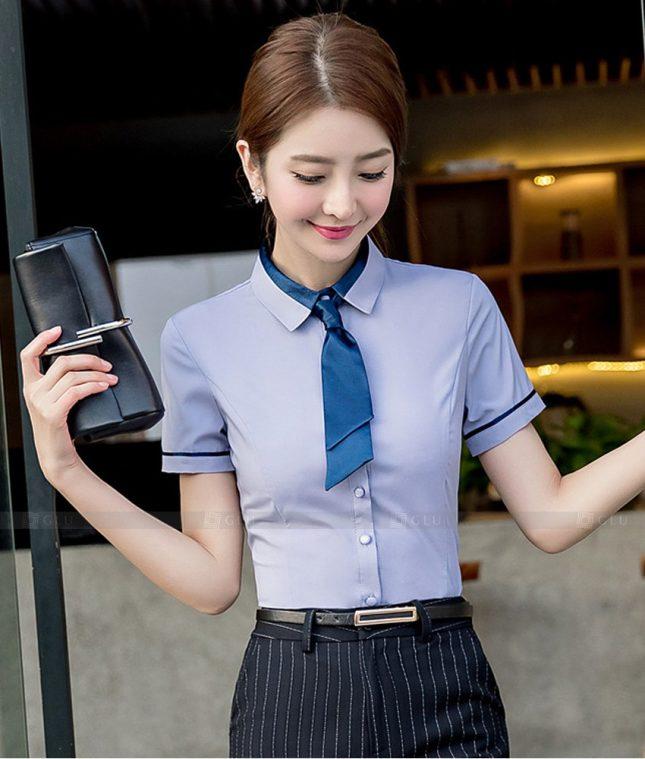 Dong Phuc Cong So Nu GS585 áo sơ mi nữ đồng phục công sở