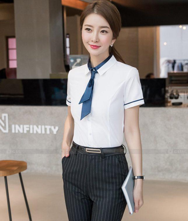 Dong Phuc Cong So Nu GS586 áo sơ mi nữ đồng phục công sở