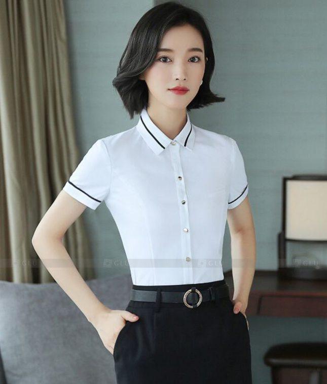 Dong Phuc Cong So Nu GS587 áo sơ mi nữ đồng phục công sở