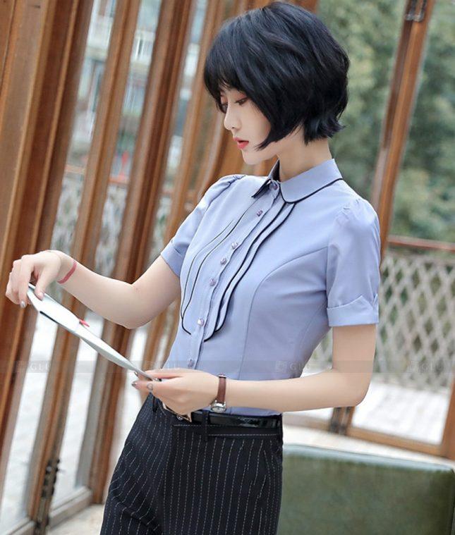 Dong Phuc Cong So Nu GS589 áo sơ mi nữ đồng phục công sở