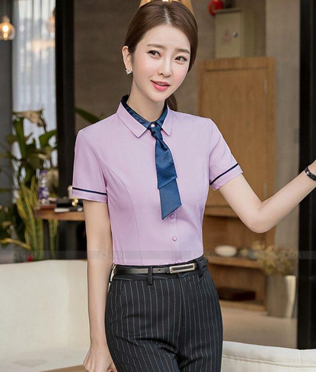Dong Phuc Cong So Nu GS590 áo sơ mi nữ đồng phục công sở