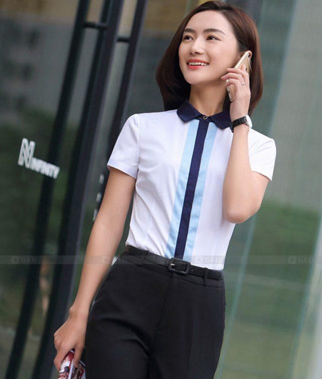 Dong Phuc Cong So Nu GS591 áo sơ mi nữ đồng phục công sở