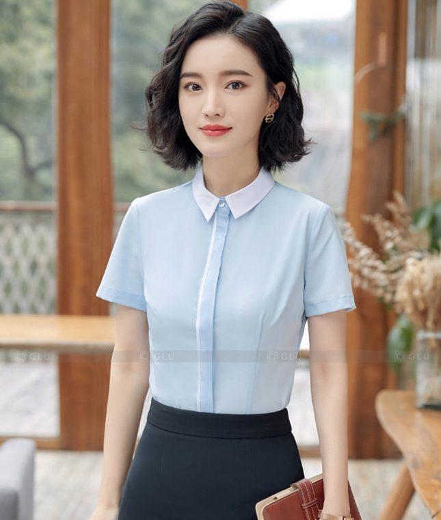 Dong Phuc Cong So Nu GS592 áo sơ mi nữ đồng phục công sở