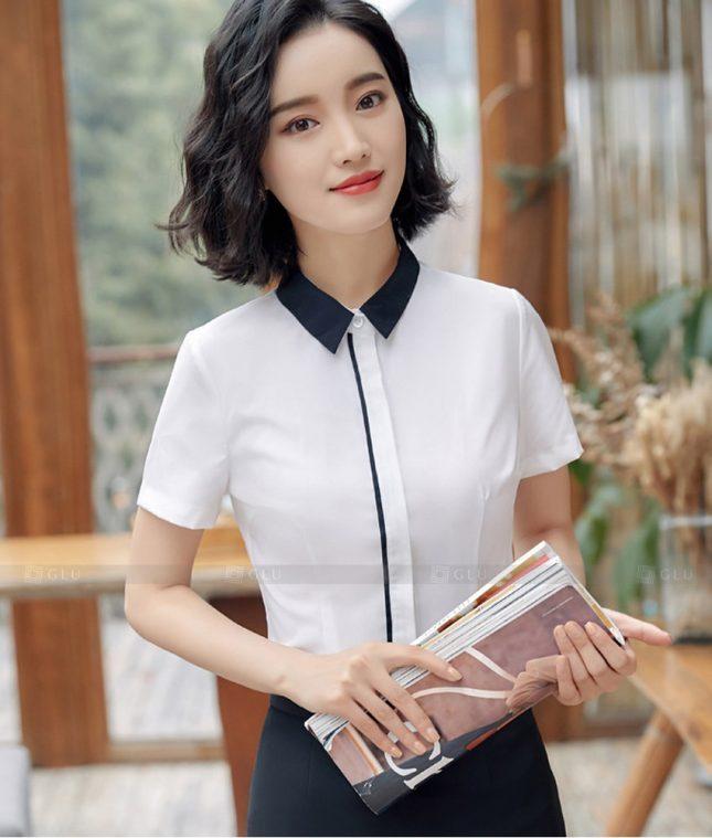Dong Phuc Cong So Nu GS593 áo sơ mi nữ đồng phục công sở