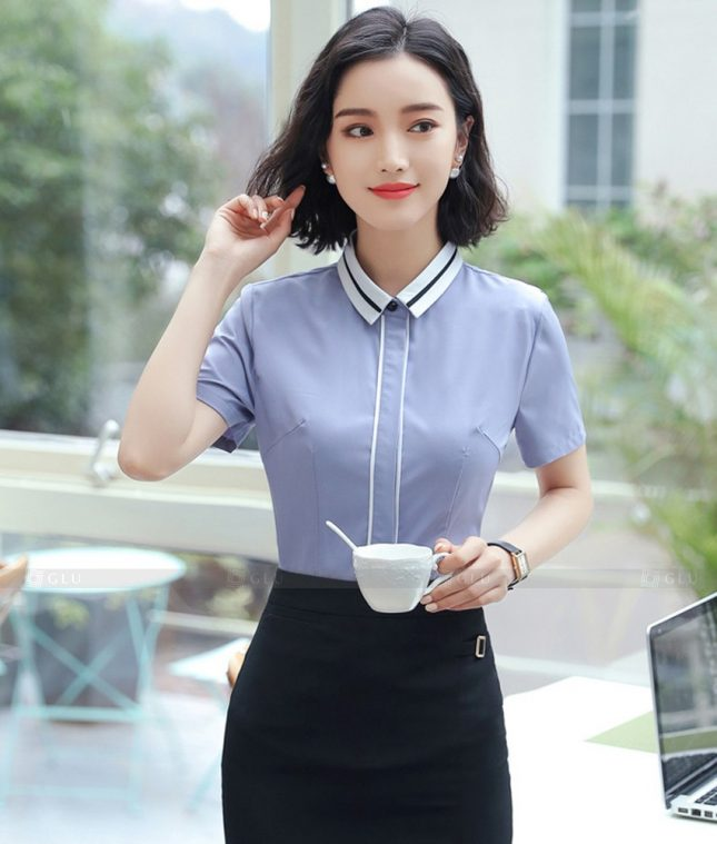 Dong Phuc Cong So Nu GS594 áo sơ mi nữ đồng phục công sở
