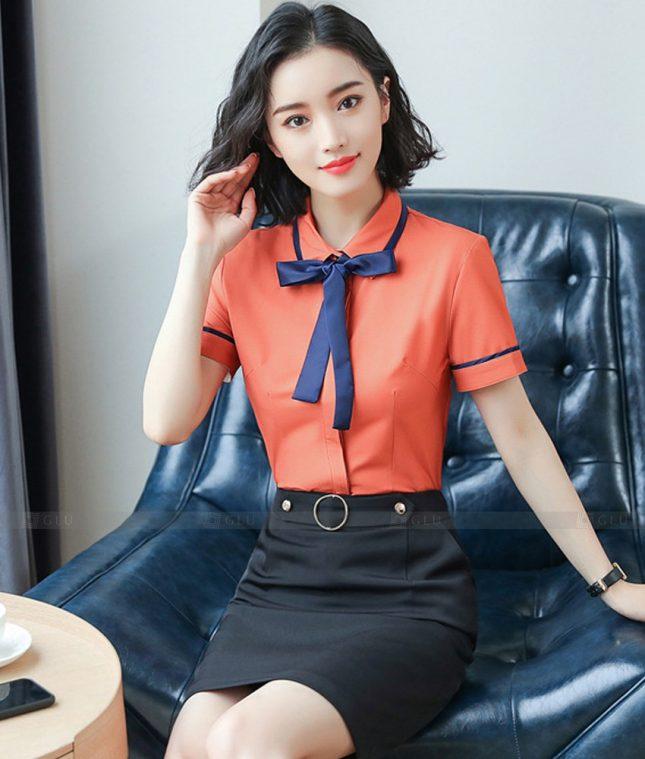 Dong Phuc Cong So Nu GS595 áo sơ mi nữ đồng phục công sở