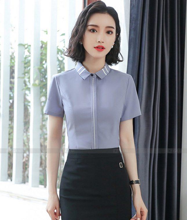 Dong Phuc Cong So Nu GS596 áo sơ mi nữ đồng phục công sở