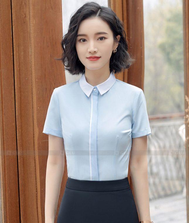 Dong Phuc Cong So Nu GS597 áo sơ mi nữ đồng phục công sở