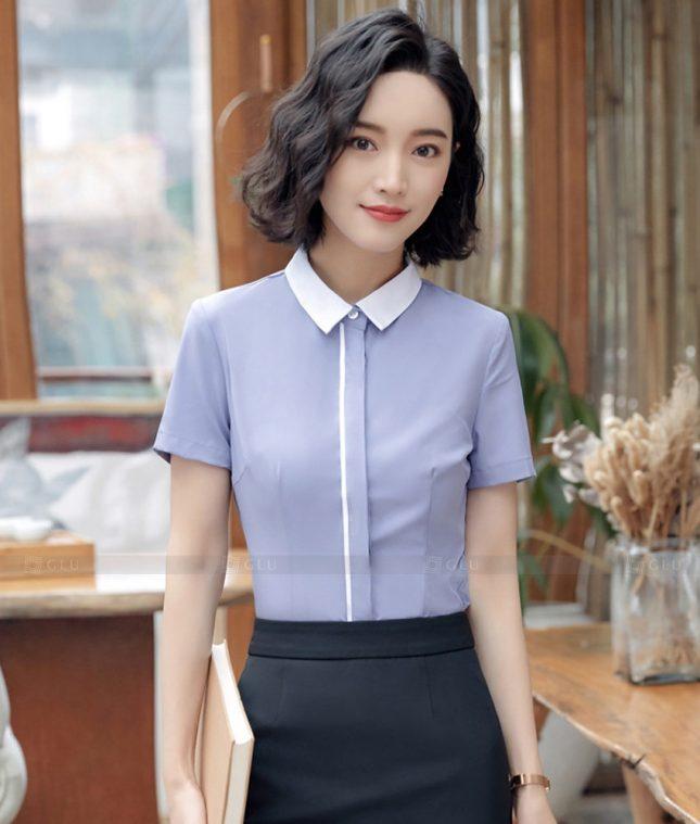 Dong Phuc Cong So Nu GS598 áo sơ mi nữ đồng phục công sở