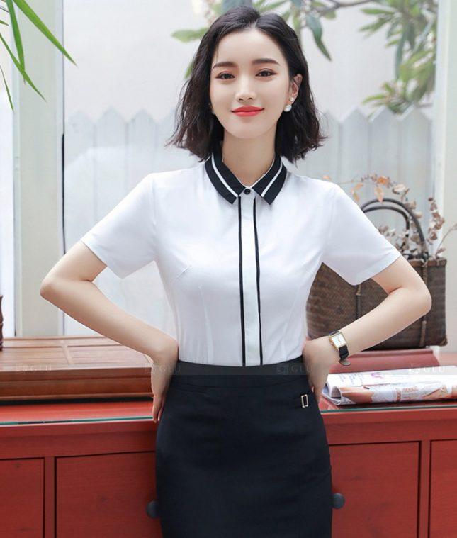 Dong Phuc Cong So Nu GS599 áo sơ mi nữ đồng phục công sở