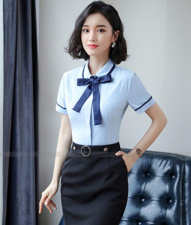 Dong Phuc Cong So Nu GS600 áo sơ mi nữ đồng phục công sở