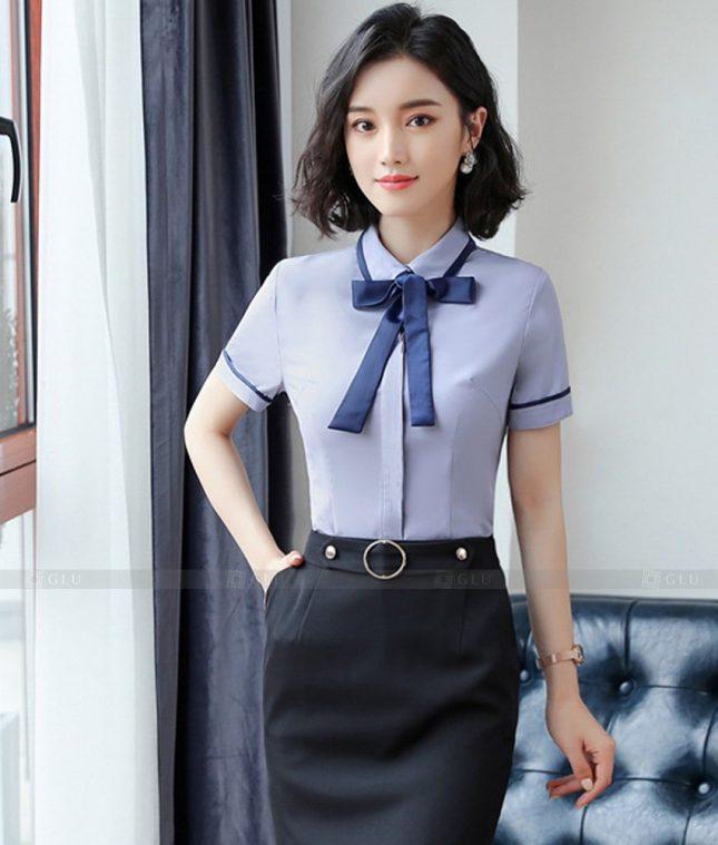 Dong Phuc Cong So Nu GS601 áo sơ mi nữ đồng phục công sở
