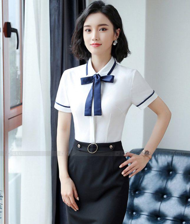 Dong Phuc Cong So Nu GS602 áo sơ mi nữ đồng phục công sở