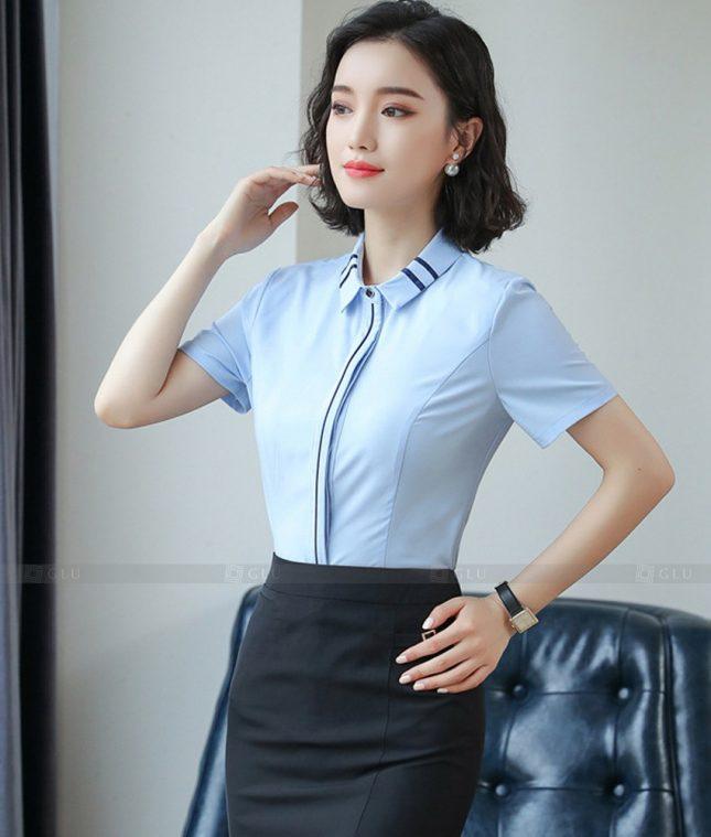 Dong Phuc Cong So Nu GS603 áo sơ mi nữ đồng phục công sở