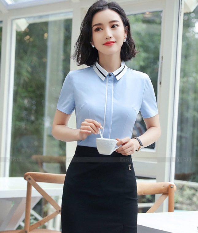 Dong Phuc Cong So Nu GS604 áo sơ mi nữ đồng phục công sở
