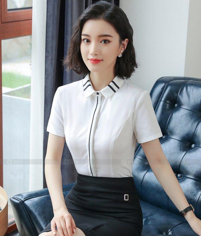 Dong Phuc Cong So Nu GS606 áo sơ mi nữ đồng phục công sở