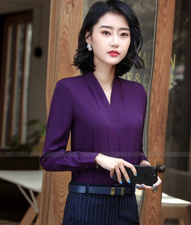 Dong Phuc Cong So Nu GS607 áo sơ mi nữ đồng phục công sở