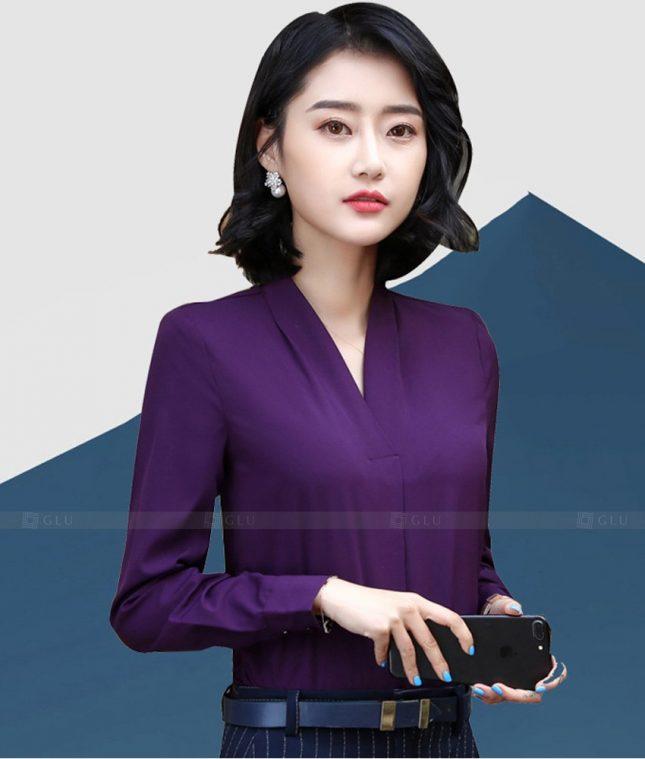 Dong Phuc Cong So Nu GS608 áo sơ mi nữ đồng phục công sở