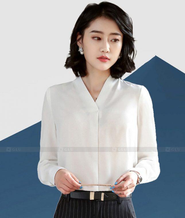 Dong Phuc Cong So Nu GS609 áo sơ mi nữ đồng phục công sở
