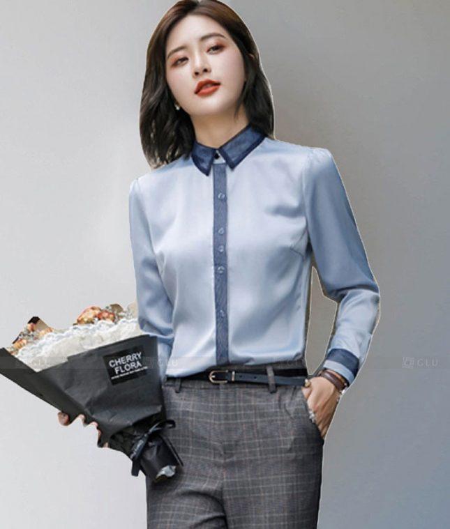 Dong Phuc Cong So Nu GS610 áo sơ mi nữ đồng phục công sở