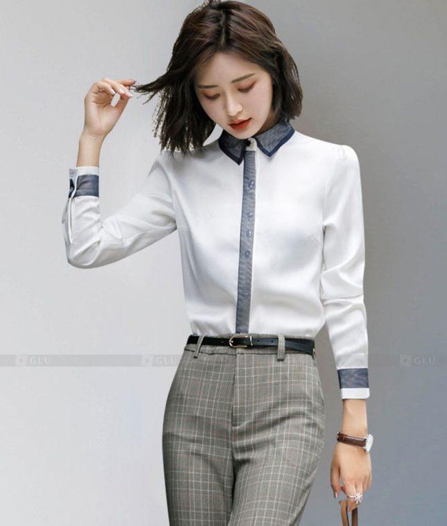 Dong Phuc Cong So Nu GS611 áo sơ mi nữ đồng phục công sở
