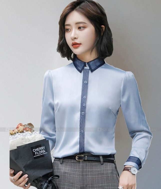 Dong Phuc Cong So Nu GS612 áo sơ mi nữ đồng phục công sở