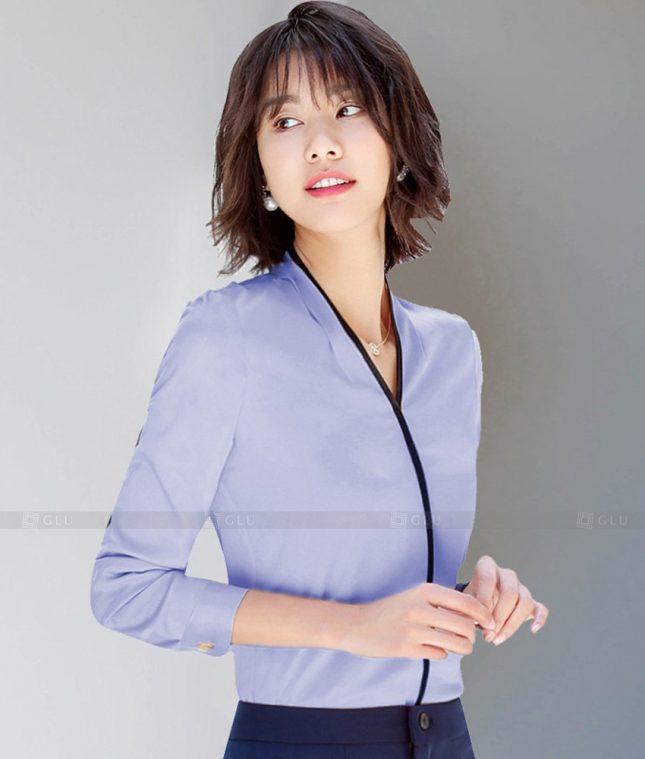 Dong Phuc Cong So Nu GS613 áo sơ mi nữ đồng phục công sở