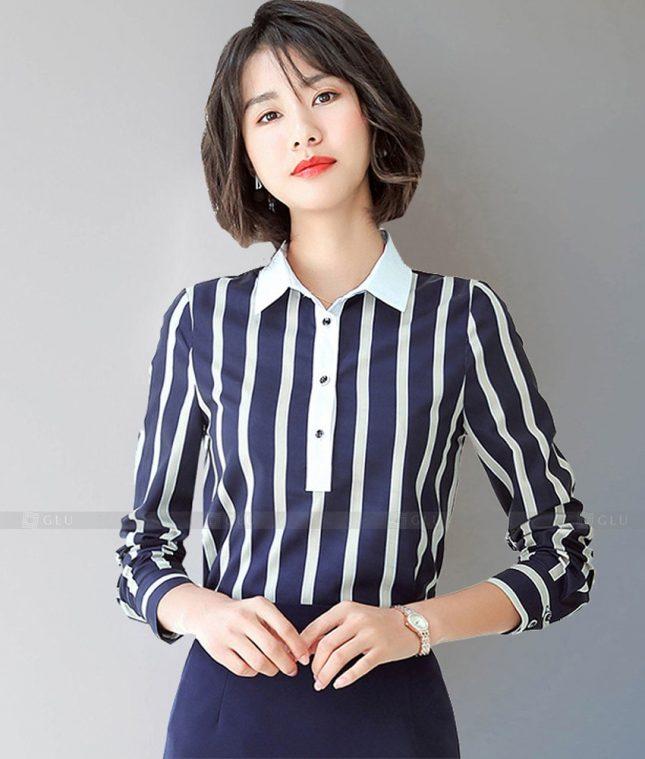Dong Phuc Cong So Nu GS614 áo sơ mi nữ đồng phục công sở