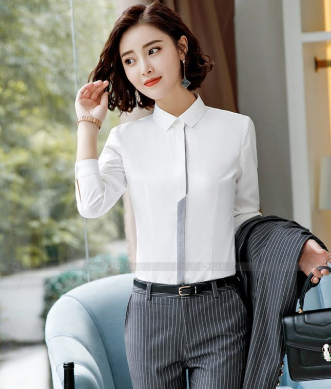 Dong Phuc Cong So Nu GS615 áo sơ mi nữ đồng phục công sở