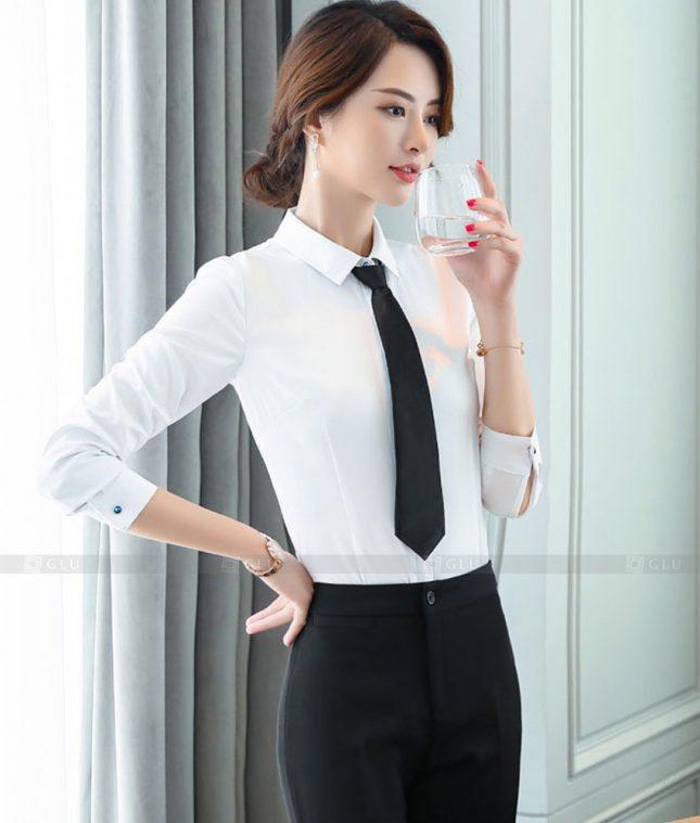 Dong Phuc Cong So Nu GS617 áo sơ mi nữ đồng phục công sở