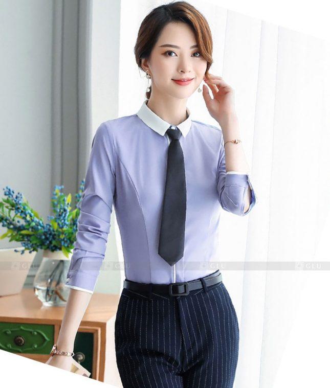 Dong Phuc Cong So Nu GS618 áo sơ mi nữ đồng phục công sở