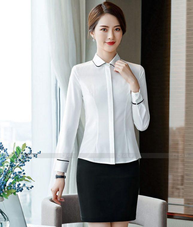 Dong Phuc Cong So Nu GS620 áo sơ mi nữ đồng phục công sở