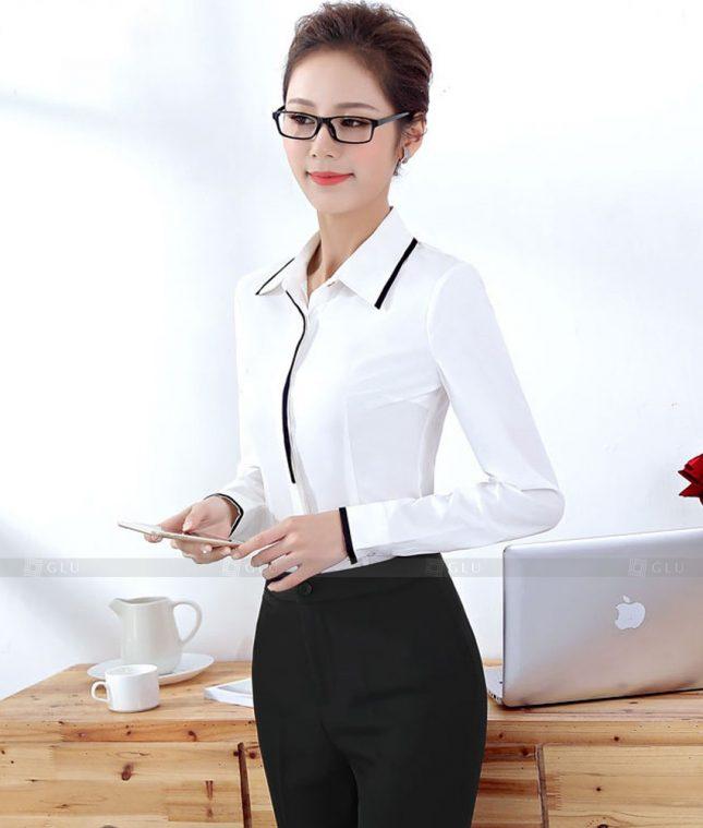 Dong Phuc Cong So Nu GS621 áo sơ mi nữ đồng phục công sở