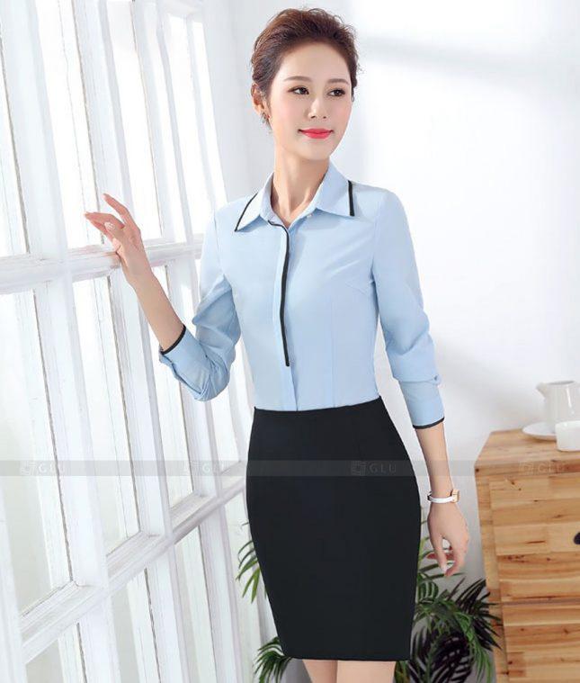 Dong Phuc Cong So Nu GS622 áo sơ mi nữ đồng phục công sở