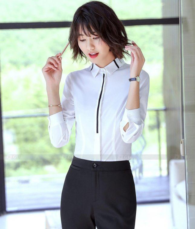 Dong Phuc Cong So Nu GS623 áo sơ mi nữ đồng phục công sở