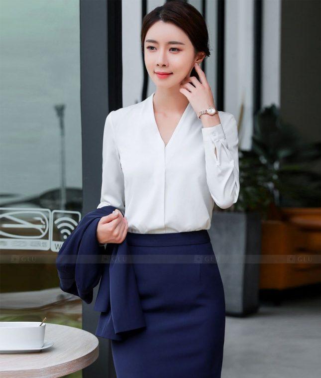 Dong Phuc Cong So Nu GS624 áo sơ mi nữ đồng phục công sở