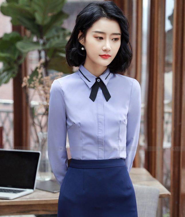 Dong Phuc Cong So Nu GS625 áo sơ mi nữ đồng phục công sở
