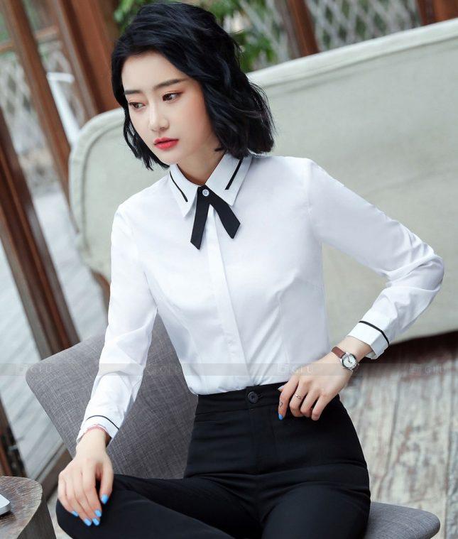 Dong Phuc Cong So Nu GS626 áo sơ mi nữ đồng phục công sở