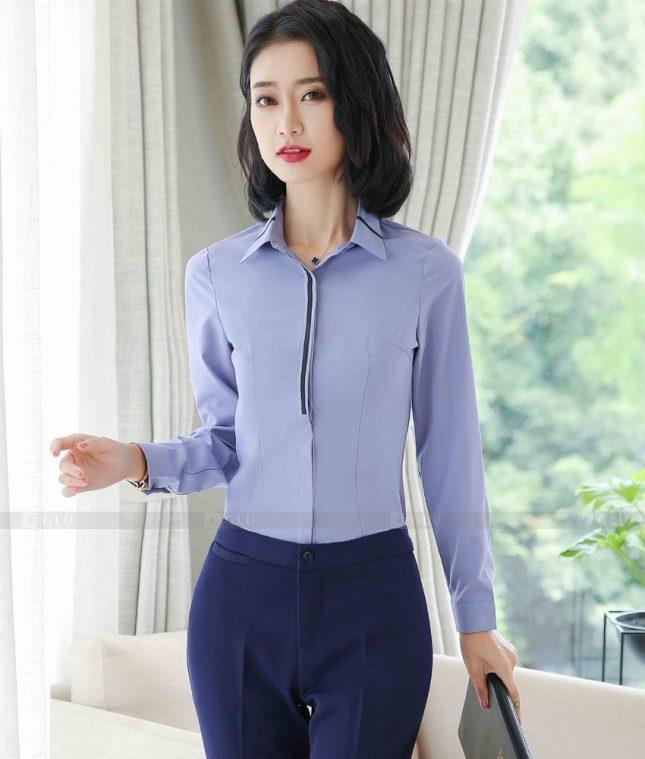 Dong Phuc Cong So Nu GS628 áo sơ mi nữ đồng phục công sở