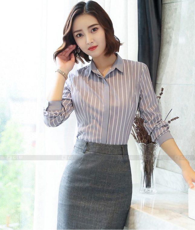 Dong Phuc Cong So Nu GS629 áo sơ mi nữ đồng phục công sở