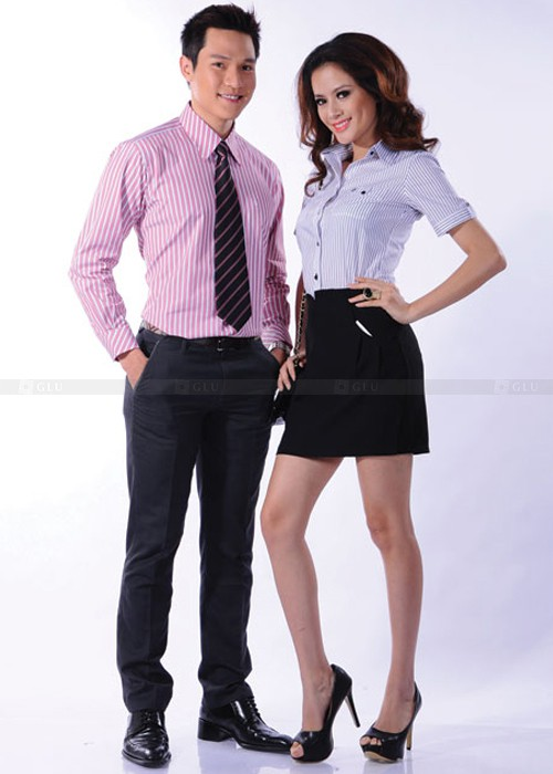 Dong phuc cong so 500 700 07 áo sơ mi nữ đồng phục công sở