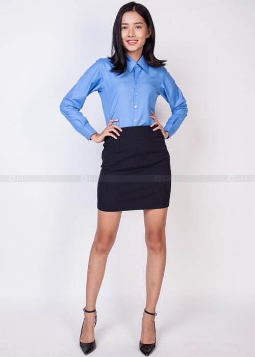Dong phuc cong so 500 700 64 áo sơ mi nữ đồng phục công sở