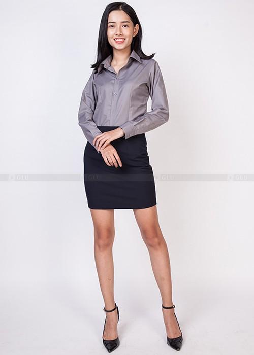Dong phuc cong so 500 700 73 áo sơ mi nữ đồng phục công sở