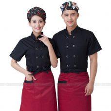 Dong Phuc Dau Bep DBA281 may đồng phục bếp